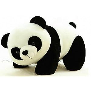 Tickles Stuffed Soft Plush Toy Kids Birthday Black Panda 26 cm (26 cm)