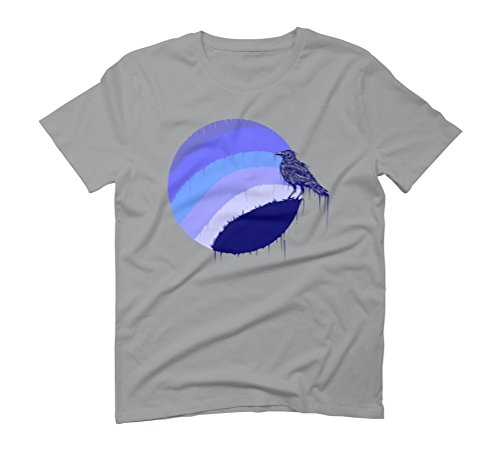 blue midnight Men's Graphic T-Shirt - Design By Humans Opal