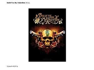 Bullet For My Valentine,Skull & 2 Pistols, Fahne