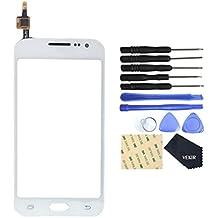 VEKIR pantalla táctil para Samsung Galaxy Core Prime VE LTE (blanco)
