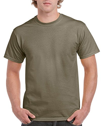 Gildan Ultra Cotton ™ Adult T-Shirt Braun - Prairie Dust