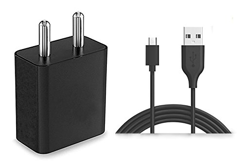 Raghav Enterprise 2 Amp Mobile Charger for Samsung Dart T499 (T 499) Charger Charger Original Adapter Like Performance Mobile Charger Wall USB Charger Power Adapter Universal Fast Charger Android Smartphone Charger Battery Charger Smart Charger Hi Speed Travel Charger Best High Quality Lower Price Charger With 1.2 Meter Micro USB Charging Data Cable ( 2 Ampere , Black / White )