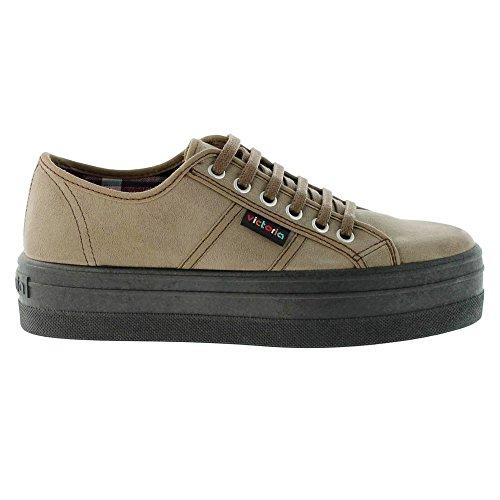 Victoria - Sneaker 109205 Donna, Beige (Taupe), 37