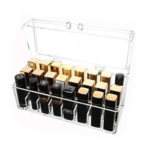 Boîte de Rangement pour Organisateur de Maquillage, Unités Cosmétiques Idéale pour Afficher Des Pinceaux, Des Rouges À Lèvres Et Des Palettes de Maquillage