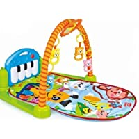 Play Mat Activity Gym for Baby - Kick and Play Newborn Toy with Piano for Baby