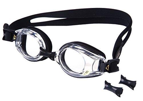 AQUA-SPEED - Optische Herren Schwimmbrille Mit Sehstärke, Schwarz 1, -1,5