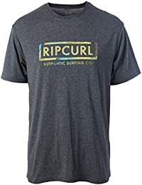 2017 Rip Curl Authentic Surfing Tee BLACK CTEVE4