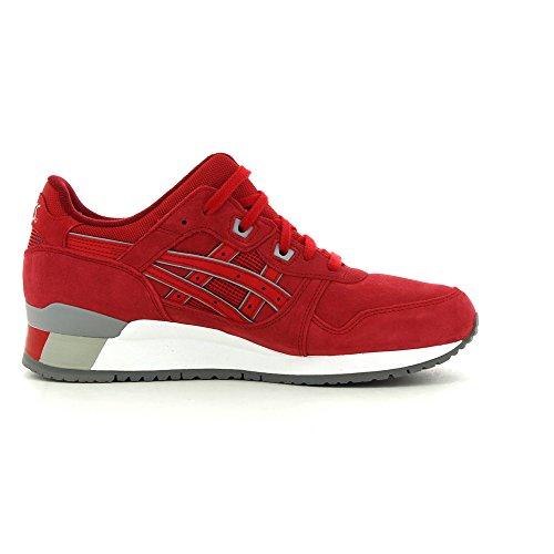 Asics Gel-lyte Iii, Sneakers Basses Mixte adulte Rouge