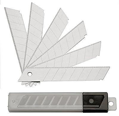 200 Abbrechklingen 18 mm 0,5 mm für Cuttermesser, Ersatzklingen, eisgehärtet , Teppichmesserklingen von FD-Workstuff - TapetenShop