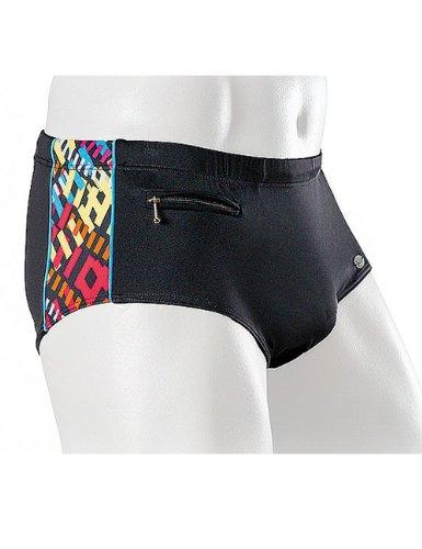 Fashy maillot de bain pour homme Multicolore - Schwarz/Bunt-34