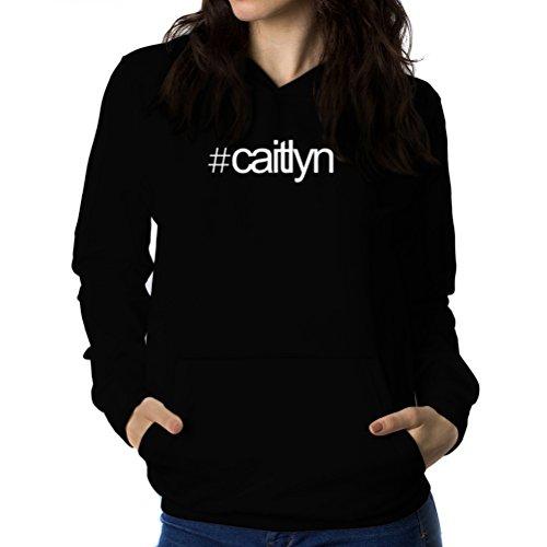 Felpe con cappuccio da donna Hashtag Caitlyn