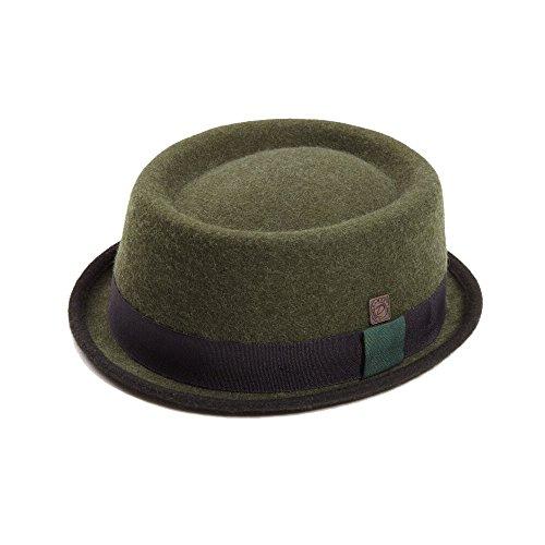 Dasmarca Tony Winter Feutre Stingy Brim Porkpie Hat