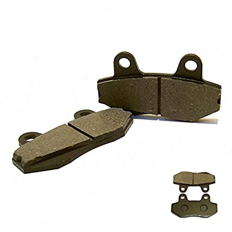 Disc Brake Front Brake Pads for Two Piston Brake Caliper for Yiying Kymco Qingqi Leike Jmstar MKS Baotian BT49QT Hyosung Peugeot Flex Tech Jack Fox Ering Adly Chinaroller