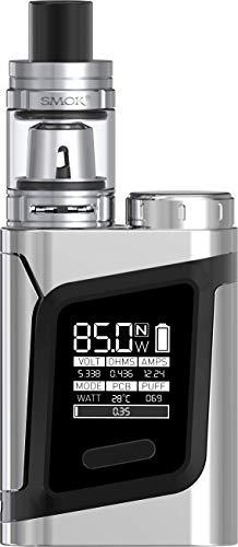 SMOK Alien 220W TC Kit de inicio de Cigarrillo Electrónico (Plata) SMOK RHA 220 Sin Tabaco y Sin Nicotina