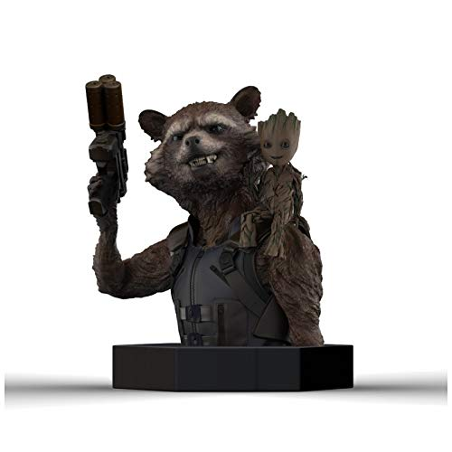 Marvel - Guardianes de la galaxia Rocket/Groot Mini Busto, 3760226375517, 16 cm