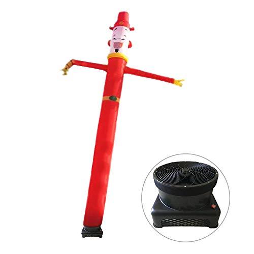 """Air Dancer Inflatable Castle 18""""Tubo Alto Hombre de Marionetas, con Ventilador de 100V-220V Cartelera Modelo Inflable de Dibujos Animados portátil, Actividades para Fiestas,20feet"""