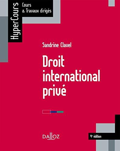 Droit international privé / Sandrine Clavel,....- Paris : Dalloz , DL 2016, cop. 2016