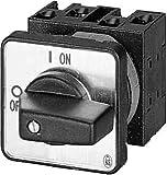Eaton 011082 Ein-aus-Schalter, 3-polig, 20 A, not-aus-Funktion, 90 Grad, Einbau