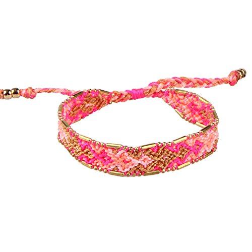 oho Handgefertigt Woven Geflochtene Freundschaftsbänder Damen-Armband ()