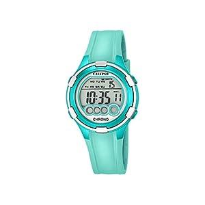 Calypso Mujer Reloj Digital con Pantalla LCD Pantalla Digital Dial y Correa