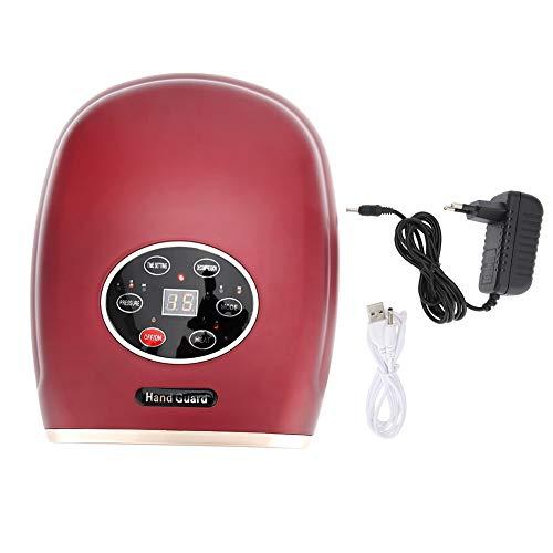 Handmassagegerät 2 Farben 3 Modi Elektrische Finger Akupunktmassage Schmerzlinderung Handpflege Werkzeug für Office Home(rot) (Beste Massage, Duschkopf)