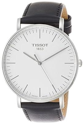 Tissot Reloj De Hombre Cuarzo 42mm Correa De Cuero Color Negro T1096101603100