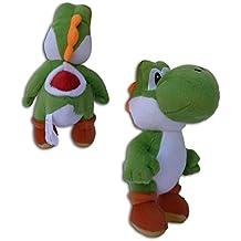 Super Mario Bros: Muñeco Peluche Yoshi 23cm Videojuego Nintendo Alta Calidad