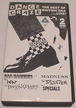 Dance Craze: The Best of British Ska Live [VHS]
