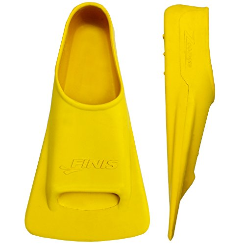 Finis Zoomers Training Fins, Yellow, ((US) M: 7-8.5, F: 8-9.5