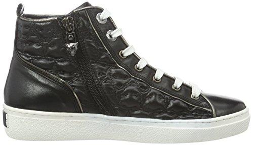 MARC CAIN Fb Sh.02 L13, Baskets Basses Femme Noir - Noir (noir 900)
