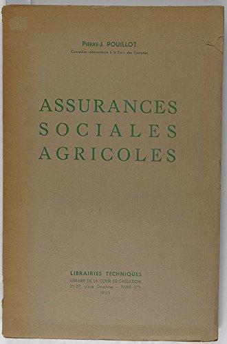 Assurances sociales agricoles