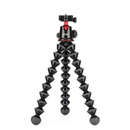 Joby Gorillapod 5K Kit SLR Zoom with BallHead for Mount Pro-Level DSLRs, Strobes, Flash or Video lights, microphone which Holds devices weighing up to 5 kg (Replaces Gorillapod Focus + Ballhead X )