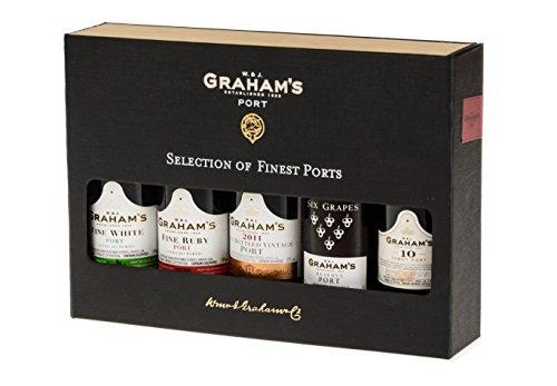 Graham's Portwein Mini flaschen (5 x 50 ml)