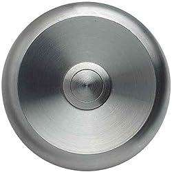 Grothe Klingeltaster, 80 X 15 Mm, Ip40, Eta S 100, Edelstahl, 1522745