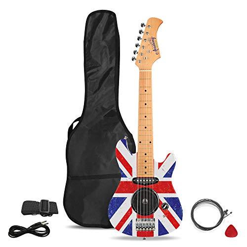 Academy of Music Chitarra elettrica per Bambini Starter Set per Principianti con Amplificatore Integrato e Accessori, Vari Design
