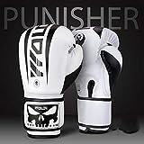 Faux Cuir Boxing Gloves,Enfants Adultes de Formation Professionnelle Muay Thai Qui...