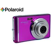 Polaroid IX828 fotocamera digitale 20 megapixel, zoom ottico 8x, 20MP, batteria al litio, le macchine fotografiche digitali migliori acquisti facile da usare, ideale per i bambini o gli adulti (viola)