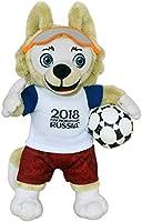 FIFA 2018 100102zabivaka-Produit Officiel Mascotte (Coupe du Monde de Football) Peluche 25cm