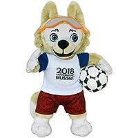 FIFA 2018 100102 Zabivaka - Offizielles Maskottchen (Fussball-WM 2018) Plüsch 25 cm