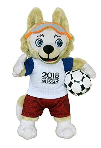 FIFA 2018 100102 Zabivaka-offizielles Maskottchen (Fussball-WM 2018) Plüsch 25 - Maskottchen