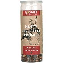 Nourish Organics Apple Flax Crunch, 90g
