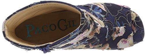 Paco Gil Damen P-3391 Stiefeletten Blau (Jeans)