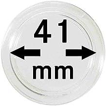LINDNER Das Original Münzkapseln Innen-Ø 41 mm, 10er-Packung