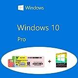 Windows 10 Pro OEM FQC-08913 Etiqueta adhesiva del producto + paquete...
