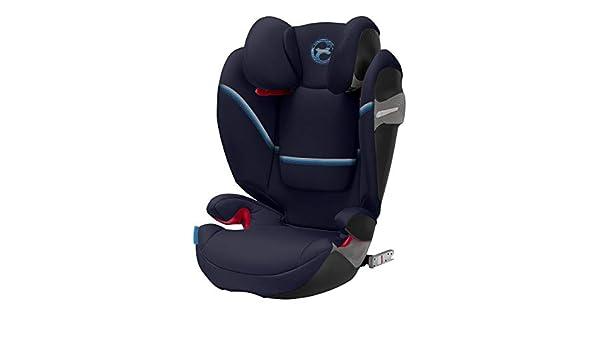 Navy Blue ab ca f/ür Autos mit und ohne ISOFIX 3 bis ca Cybex Gold Kinder-Autositz Solution S i-Fix 15-36 kg Gruppe 2//3 12 Jahre