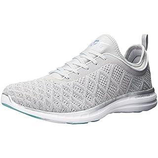 APL: Athletic Propulsion Labs Women's Techloom Phantom Shoe Running, Metallic Silver/Cosmic Grey, 3 UK (M)