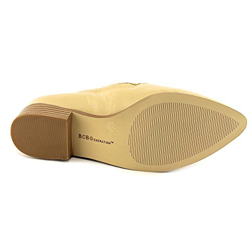 BCBGeneration Maxxy Rund Leder Slipper Warm Sand