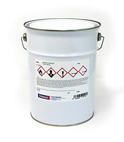 Resina de Poliéster Ortoftálica Nazza | De reactividad media, preacelerada y tixotrópica | Transparente...