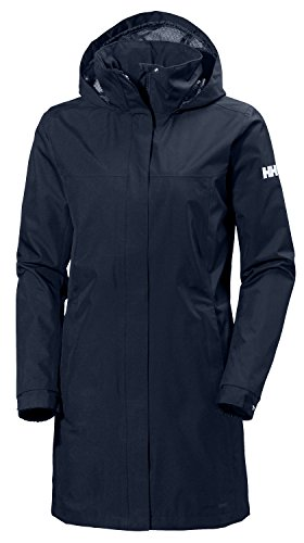 Helly Hansen Damen W Aden Long Jacket, Evening Blue, L