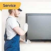 TV Installation - 1 TV Below 55 Inches with Wall Mount
